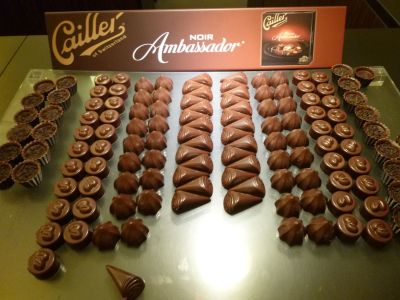 Just some of the many chocolates to try!
