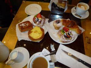 Birthday morning tea