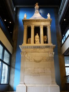 At the Roman museum