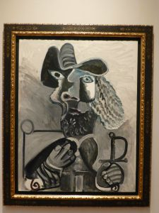Picasso in the gallery