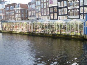 Floating flower markets