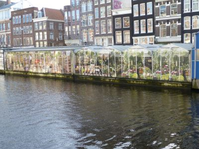 Floating flower markets
