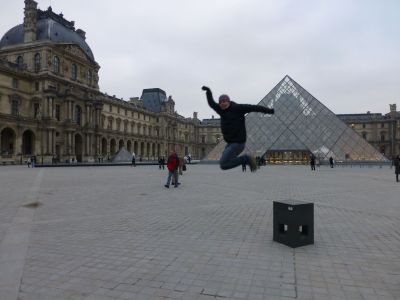 Reubs at the Louvre