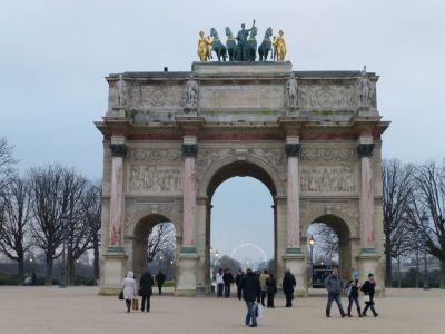 The mini Arc de Triomphe