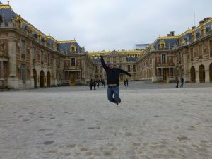 Reubs outside Versailles