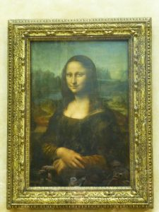 The underwhelming Mona Lisa