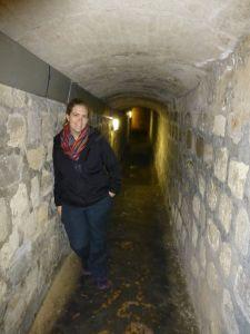 Headed underground