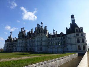 The massive chateau