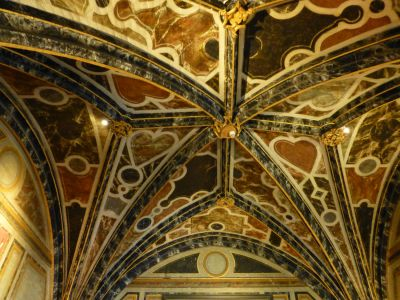 One of the beautiful ceilings