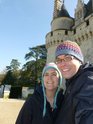 Us at the chateau