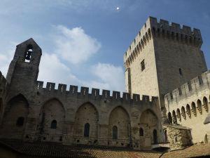 The impressive palace