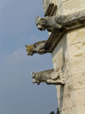 Gargoyles on the palace