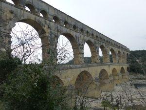 The rather more impressive Pont du Gard