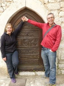 One of the cute doors in Eze