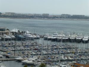 Some of the yachts