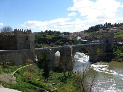 The bridge of San Martin