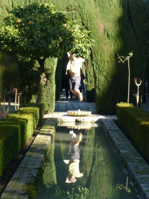 Jumping in the Generalife