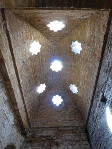 Ceiling in the bathhouse