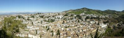 View of the Albayzin