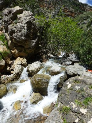 You wouldn't necessarily think Morocco = waterfalls!