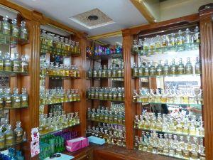 At the perfume shop