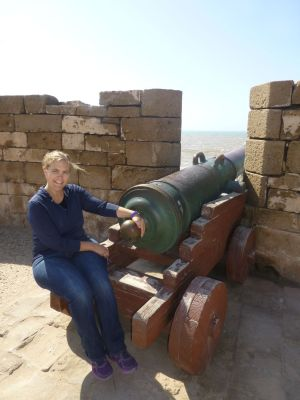 Karen and a cannon