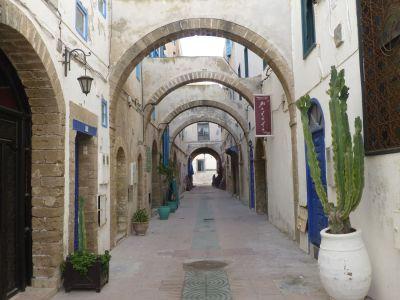 The streets of Essaouira