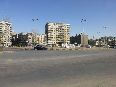At Tahrir square