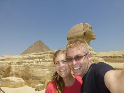 Us at the Sphinx