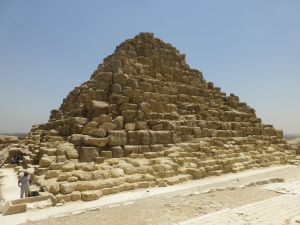One of the Queen's pyramids