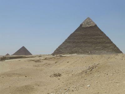 All three pyramids