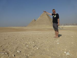 Reubs and the pyramids