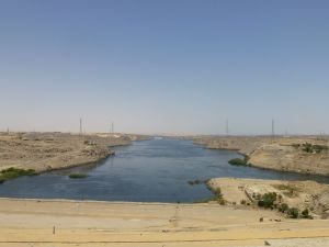 View from the High Dam