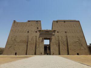 Edfu entrance