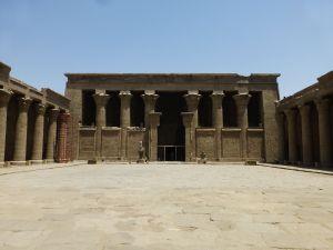 Edfu inner courtyard