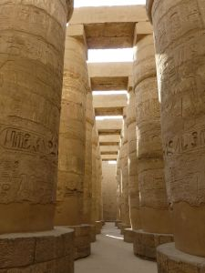 In the hall of pillars