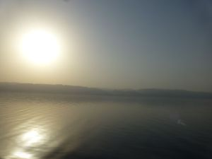 View on the way to Jordan