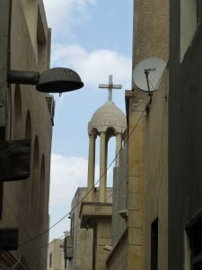 Walking around Coptic Cairo