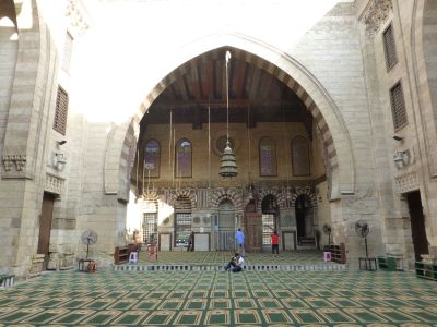 In one of the mosques