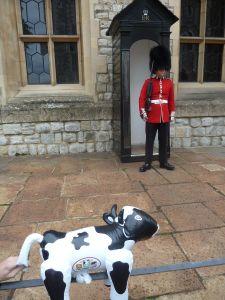 The impressive guard!