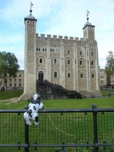 Being impressed at the Tower of London