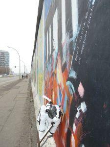 Piako at the Berlin Wall