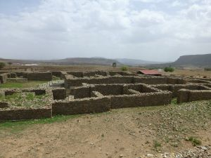 Queen Sheba's palace