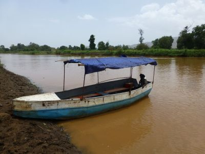Our boat ride that completed the circuit