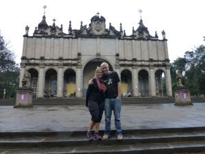Us at the Cathedral