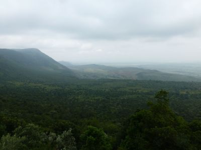 Looking down over the Rift Valley