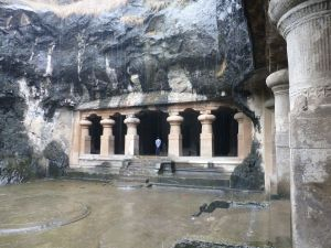 Part of the cave temple