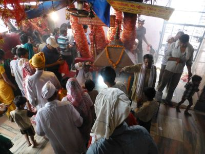 At Mansa Devi temple