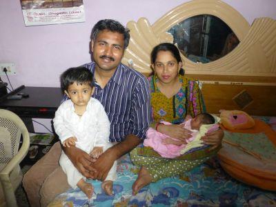 Rupesh and family