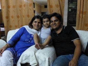 Sachin and family